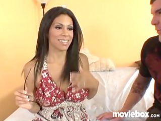 latina has no problem cheating on her husband!