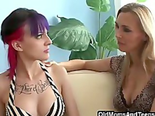 going bad with homosexual chick stepmom