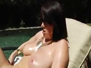 awesome ravenous mature babe with huge chest