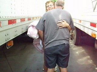 amateur housewife dogging with truckdriver