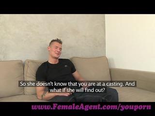 femaleagent. nymphomaniac stripper delights babe