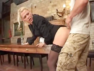 german mature lady bottom