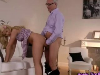 charming blonde inexperienced cougar fuck
