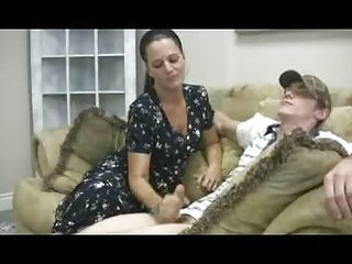 staceys mom - veronica cfnm handjob