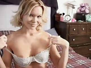 mature babes in lingerie giving cock sucking