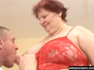 chubby mature maiden with a huge anal