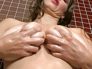 lusty big boobed chick bitch enjoys passionately
