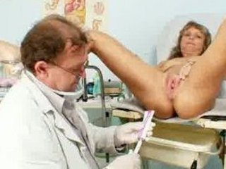 vladimira older elderly vagina speculum gyno exam