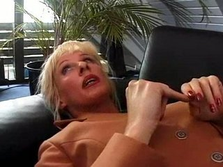 german mature drilled by psy and fresh boy