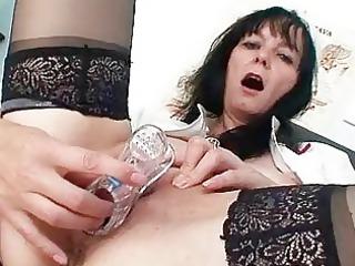 horny elderly milf nurse got brooke huge breast