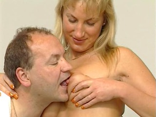 enormously impressive german mature duo gang bang