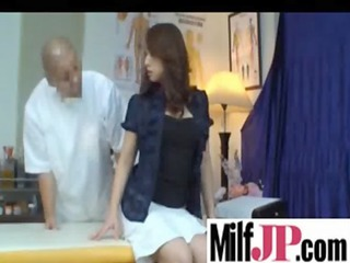 pretty awesome japanese mature babes get drilled