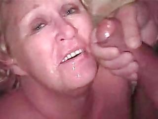 granny bleached bukkake