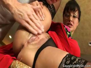 milf gets her stupid lengthy