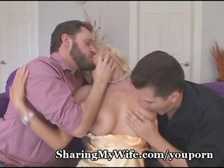 awesome woman controls her fuck slaves
