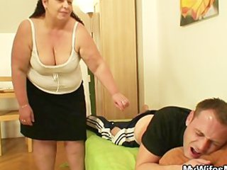 during his woman away he nails her chubby angel