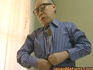enormously impressive eastern babe has elderly