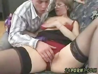 grandmother masturbating to fuck