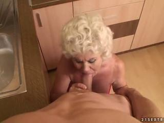 granny acquiring fucked from point of view by