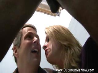 cuckold fucker watches milf hotwif