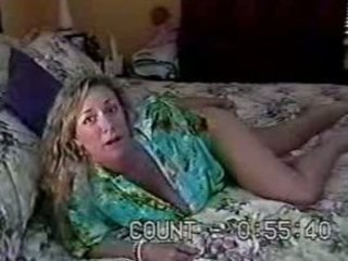 mature woman fucking in her milf and dads bedroom