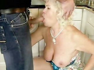 ugly granny has fuck with her lover