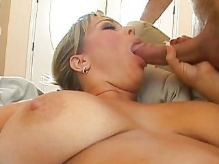 slutty horny blond girl hetting her kitty drilled