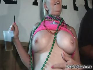 busty cougar blond whore sharing her part5