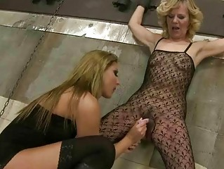 housewife cindy hope punishing gorgeous grandma
