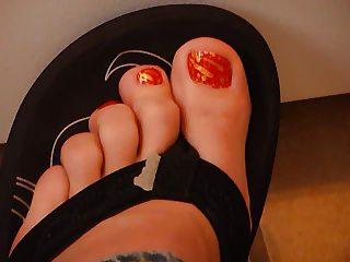 wish legs flip flop