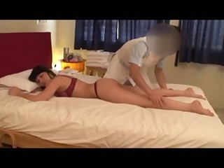 nonprofessional blonde housewife massage (pts162)