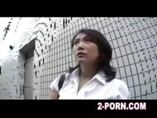 mature babe has a cumshots asian massage