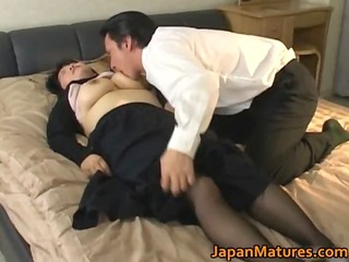 japanese cougar babe has enormously impressive