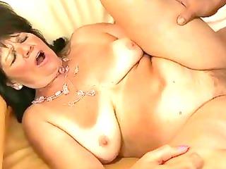 lusty fat grandma likes hot banging