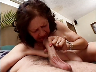 bbw elderly strippes and licks huge libido