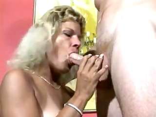 tanned golden-haired mother id like to pierce