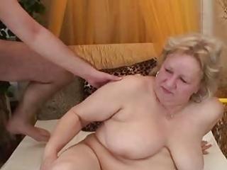 fat mature has joy