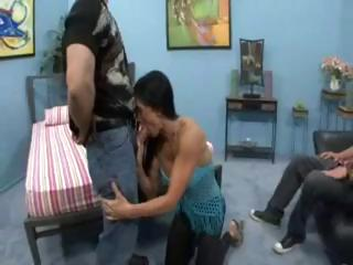 hot wife fucked when man watches