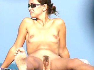 housewife spreading on al fresco sea coast 2
