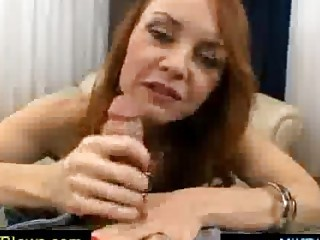 slutty black haired mature spoiling a libido