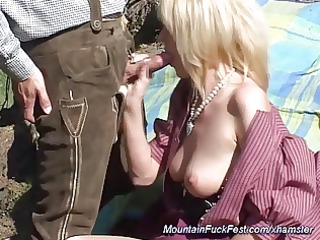 bottom milf inside the mountains