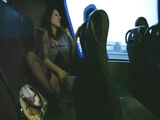 girlfriend enjoys on a al fresco bus