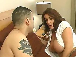 mature slut with giant tits obtains a bedroom