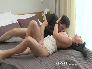 milf cheating woman pleases away