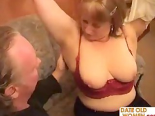 chubby grandmother goes horny