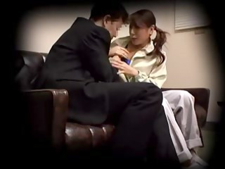 japanese abode woman creampied by her boss