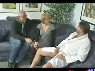 older couple invites fresh stud to spice things up