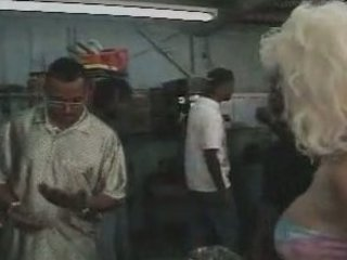 allysin embers- milf gangbanged inside the garage