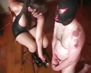 extreme milf horny balls bondage