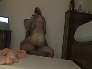 interracial older sex clip big wazoo babe rides